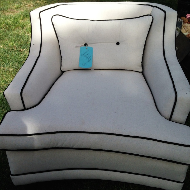 Reproduced/Reverse Kate Spade Chair